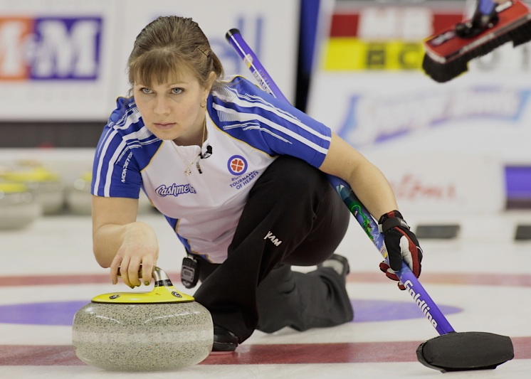 Featured Curling Athlete: Jacquie Armstrong