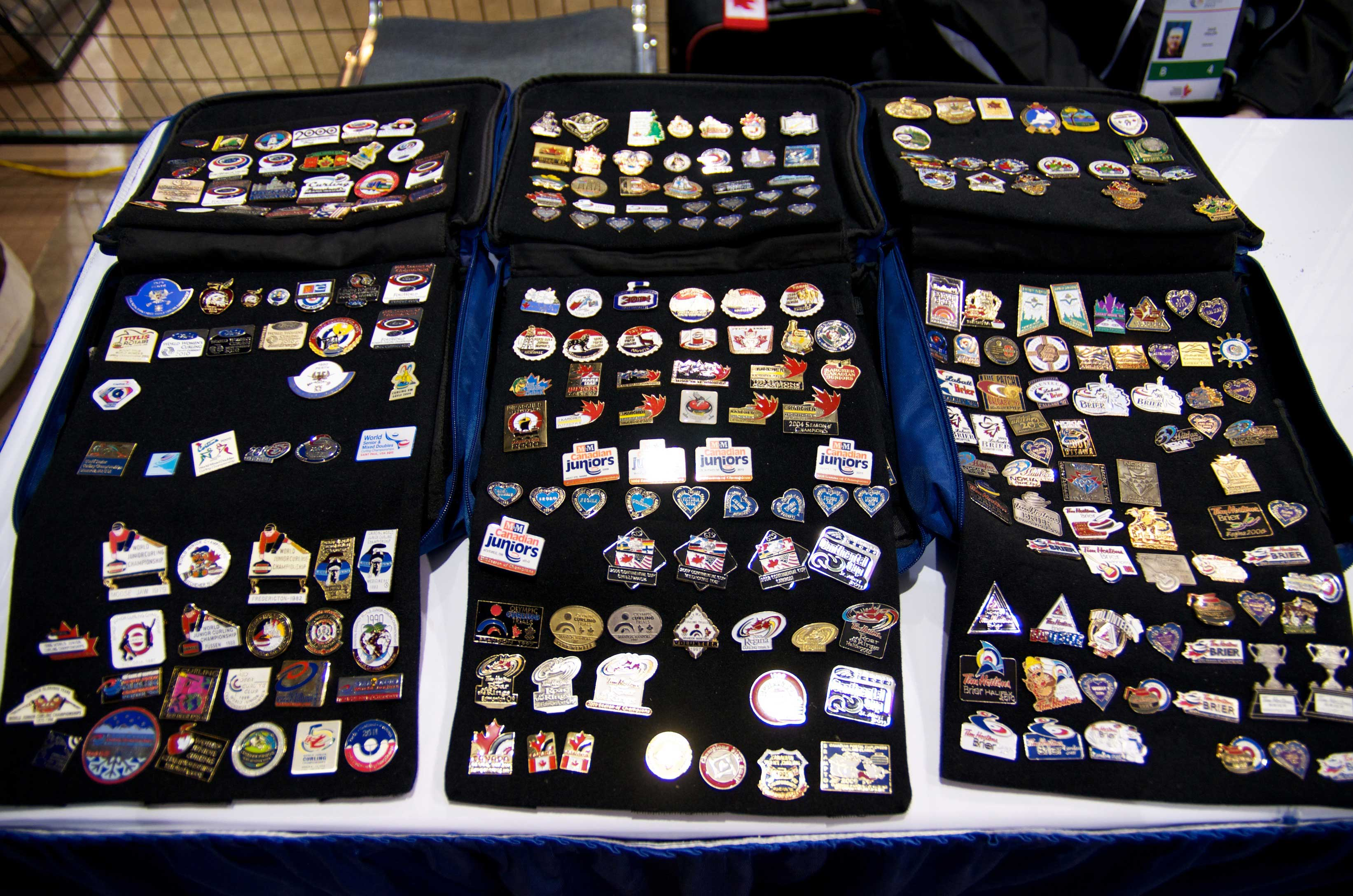Pin collecting big part of curling | Curling Canada