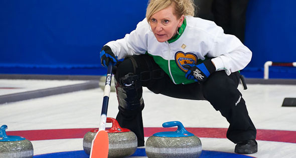 Alberta's Cathy King is in the Playoffs