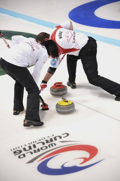 Hicke, Eberle Remain Undefeated at Mixed Doubles World Championship