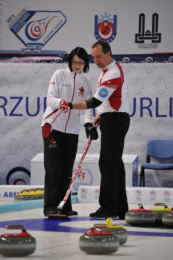 Switzerland Wins Gold at World Mixed Doubles Curling Championship