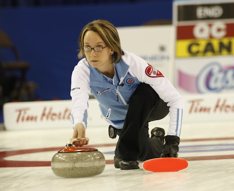 Featured Curling Athlete: Marie-France Larouche