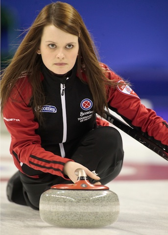 Featured Curling Athlete: Tracy Horgan