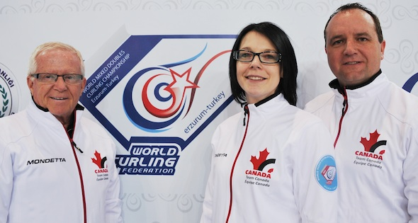 Canada Wins Opening Game at World Mixed Doubles Championship