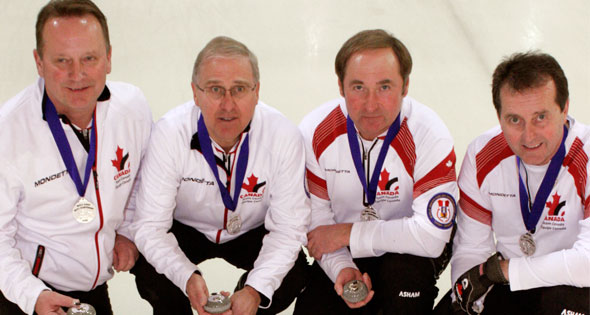 Fredericton to Stage 2013 World Mixed Doubles and World Senior Curling Championships