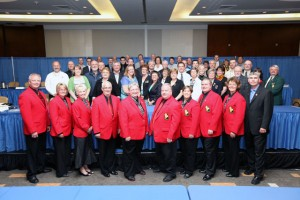 Delegates at the 2012 CCA National Curling Congress and AGM