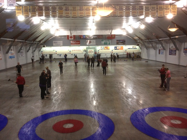 Curling in July. Why not?