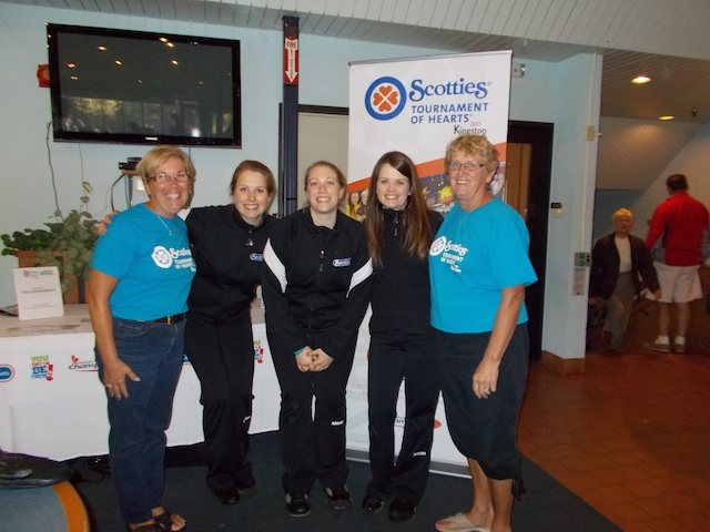 Scotties Crew Works the Crowds at Shorty Jenkins Classic