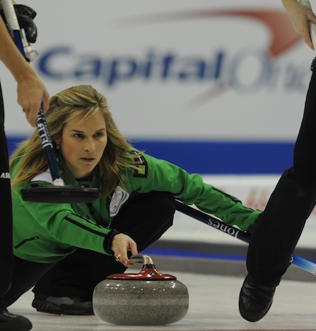 Lucky Seven Compete for Berth in Curling Trials