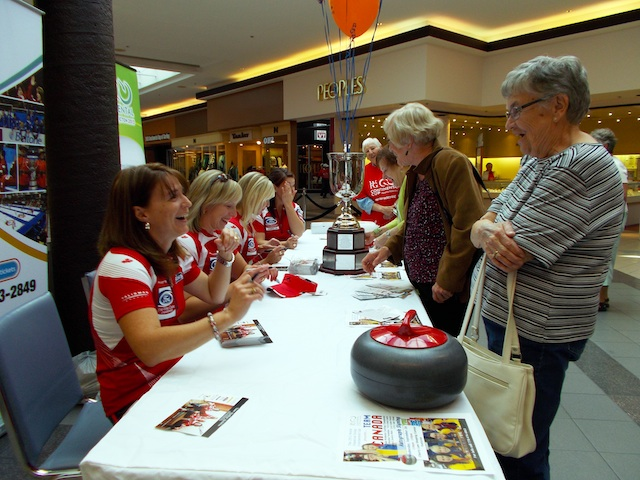 Penticton Welcomes Curling's Team Canada