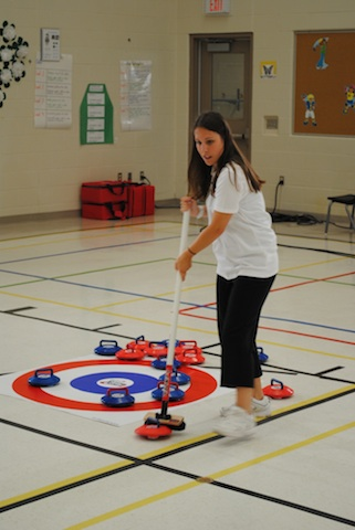 Capital One Rocks & Rings Summer Camp Curling Adventures