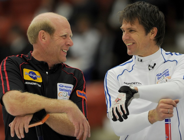 Martin's Back for Curling's International Classic
