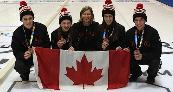 Inside Junior Curling: Youth Olympic Games Bronze Medallists Reflect