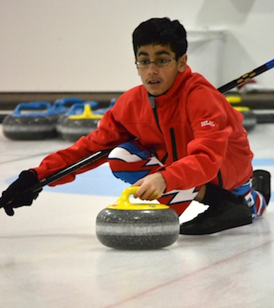 Young Kingston curler is the Scotties' biggest fan
