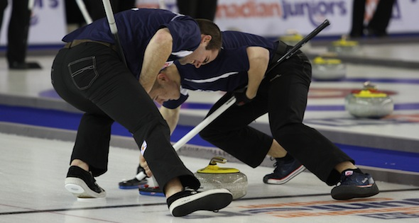 Alberta men, B.C. women clinch byes to finals at Canadian Juniors