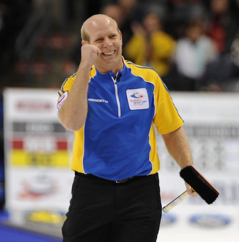 The field's almost full for the Brier