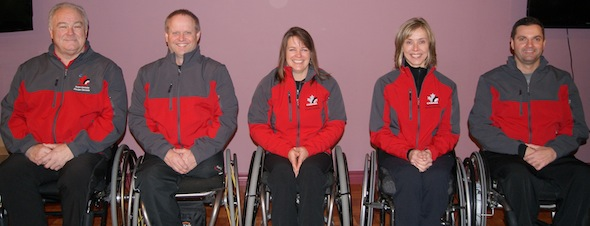 Team Canada to chase gold at World Wheelchair Curling Championship