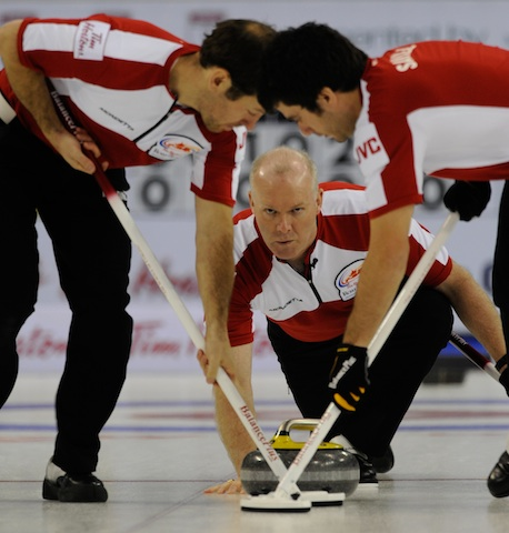 Defending champs are back at the Brier