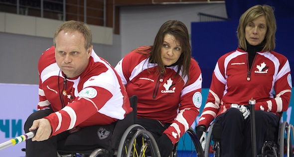 Team Canada knocks off defending champs at Wheelchair Worlds
