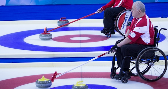 Canada playoff-bound at Wheelchair Worlds