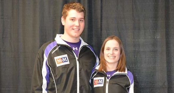 Yukon youngsters shine at Mixed Doubles Trials