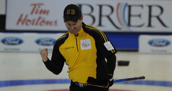 Gushue, Howard unbeaten at Tim Hortons Brier; Grattan knocks off Alberta