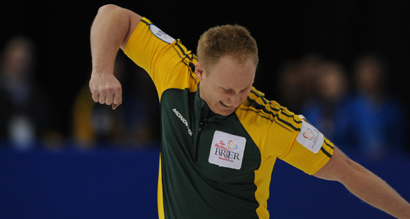 Extra-end win sends Jacobs into Tim Hortons Brier semifinal