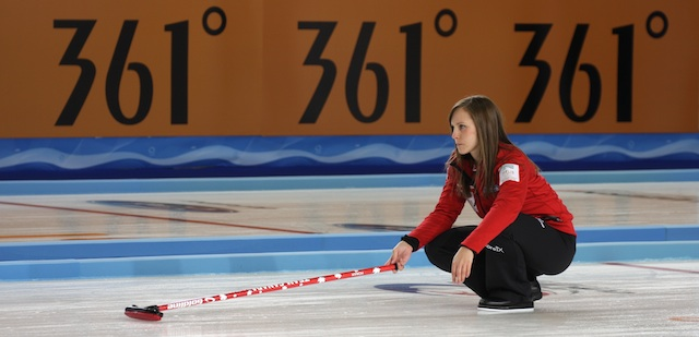 Homan steals a win at Women's Worlds