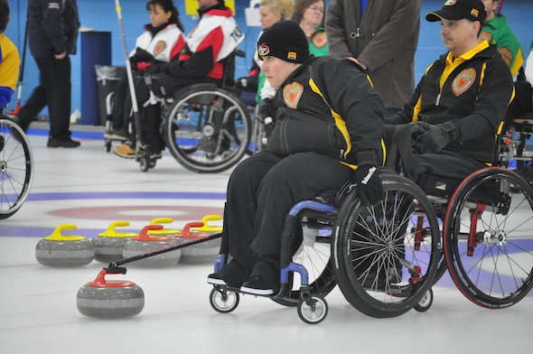 An extra-end win for New Brunswick at Canadian Wheelchair Curling Championship
