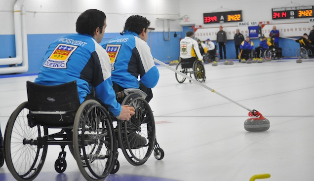 Playoff match-ups are set at Canadian Wheelchair Curling Championship