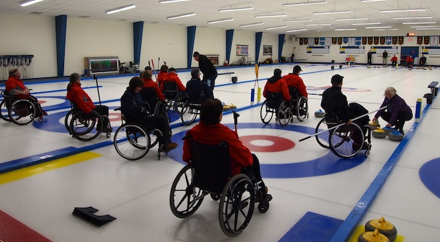 Wheelchair Curling: A New Learning Curve