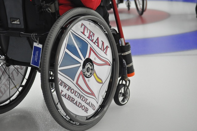 Teams lining up for playoffs at Wheelchair Curling Championship