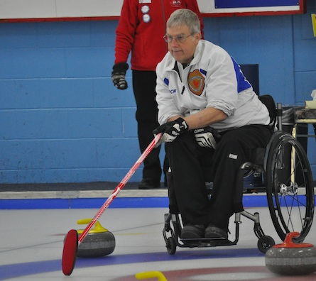 Quebec through to final at Wheelchair Curling Championship