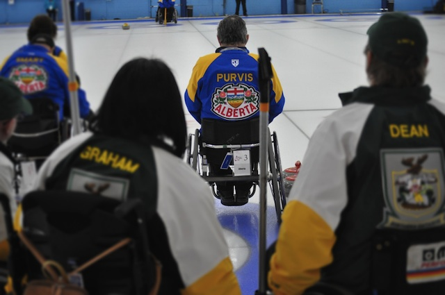Alberta through to semifinal at Wheelchair Curling Championship