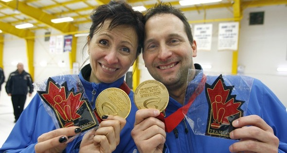 Desjardins, Néron capture gold at Mixed Doubles Trials