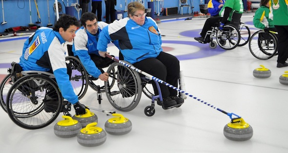 Quebec alone on top at Canadian Wheelchair Championship