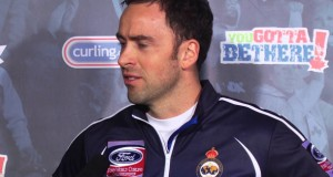 Draw 4 Media Scrum – 2013 Ford World Men's Curling Championship