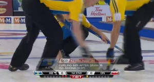 AB vs ON: 2013 Tim Hortons Brier – Draw 17