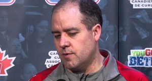 Draw 15 Media Scrum – 2013 Tim Hortons Brier