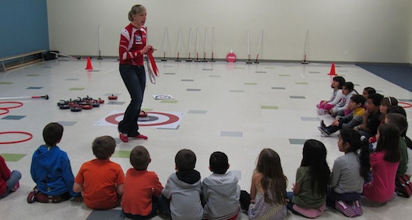 Rocks & Rings: Beth Iskiw helps bring curling to local school children