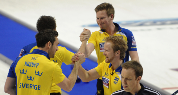 Sweden to play for gold at Ford Worlds