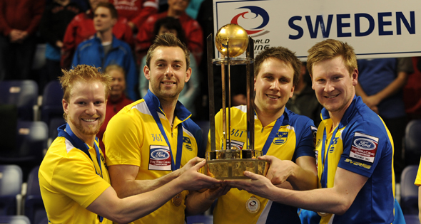 Sweden defeats Canada for Ford Worlds gold medal