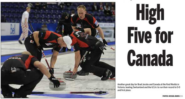 Eye Opener Day 4: 2013 Ford World Men's Curling Championship