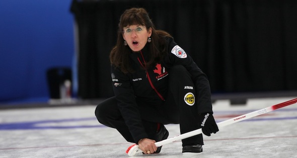 Canadian women earn another win at World Seniors