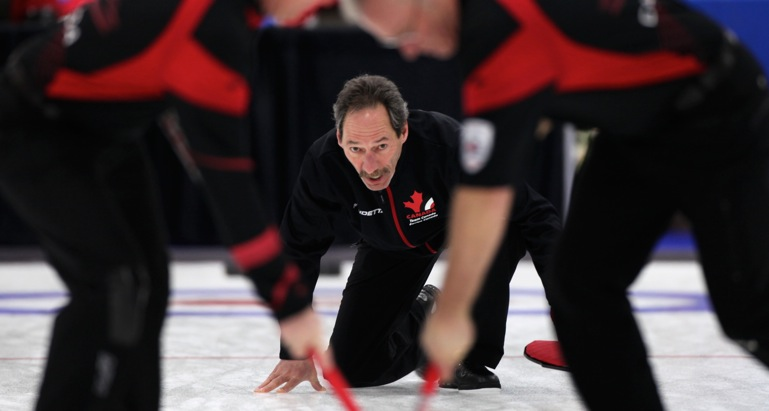 Canadian men close to playoff spot at World Seniors
