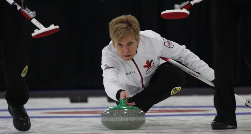 Canadian senior women clinch first; mixed doubles team eliminated