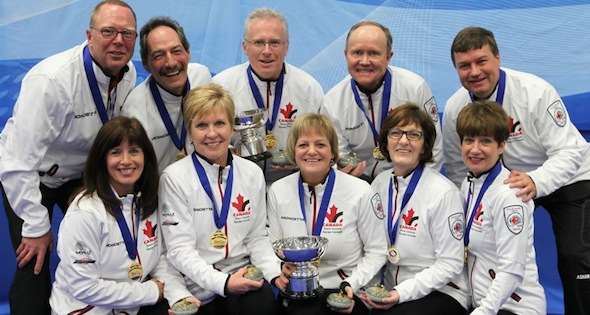 Canada sweeps gold medals at World Seniors