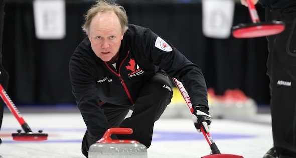 Canadian men open World Seniors on winning note