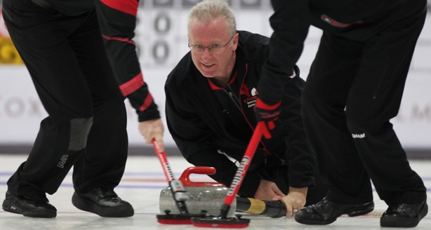 Canadian men finish round robin with unbeaten record at World Seniors