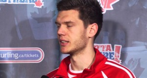 Draw 6 Media Scrum – 2013 Ford World Men's Curling Championship